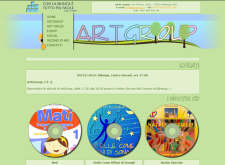 [GRAFICA: Siti Web] – Associzione di Promozione Sociale