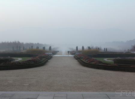 [FOTOGRAFIA] – Giardino nella nebbia, Venaria Reale (TO)