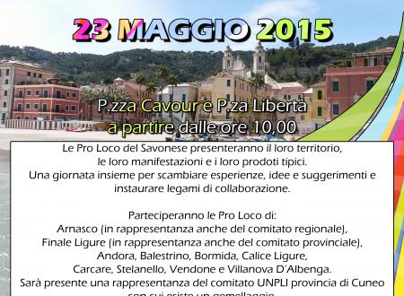 [GRAFICA: Locandina] – Festa Provinciale delle Pro Loco 2015, Laigueglia
