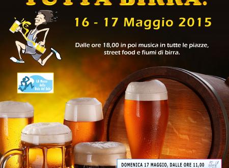 [GRAFICA: Locandina] – Festa della Birra 2015, Laigueglia